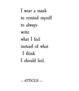 mask -Atticus